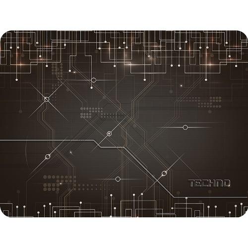 Коврик для мыши с матерчатым покрытием Dialog PM-H17 Techno, электронное техно