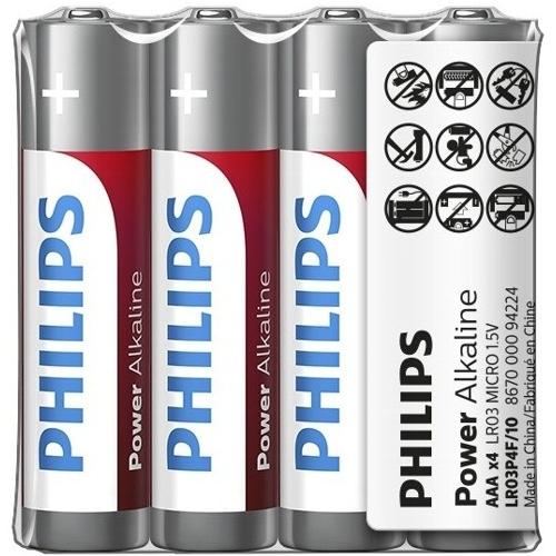 Батарейка ААА щелочная Philips LR03-20SH Power Alkaline в упаковке 20шт.