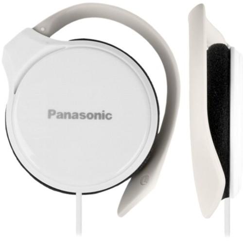 Наушники Panasonic RP-HS46E-W, накладные, сверхтонкие, крепление за ухом без оголовья, белые
