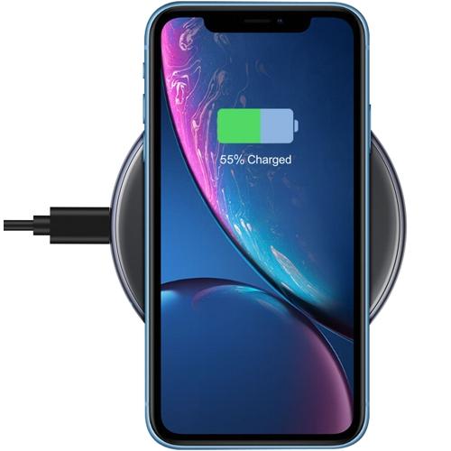 Беспроводное зарядное устройство USB - QI Wireless, QCyber QW-4, быстрая зарядка 10Вт