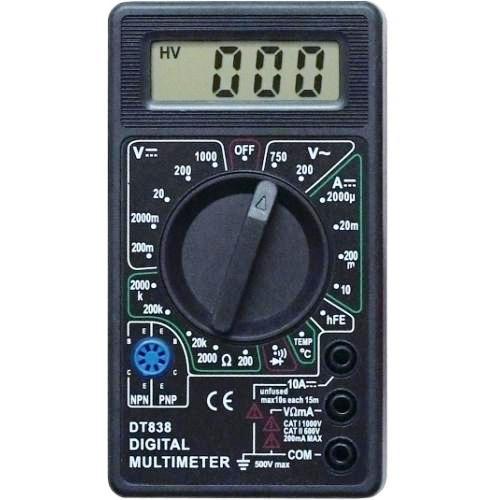 Тестер портативный мультиметр M838-DT838 Proconnect