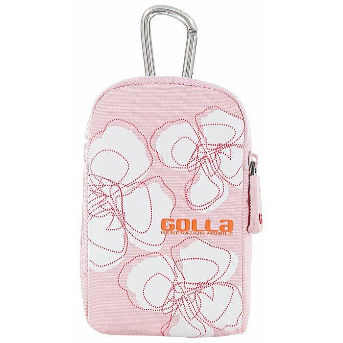 Чехол для наушников вкладышей Golla G-694 Isle Digi Bags 115*75*35 мм - розовый