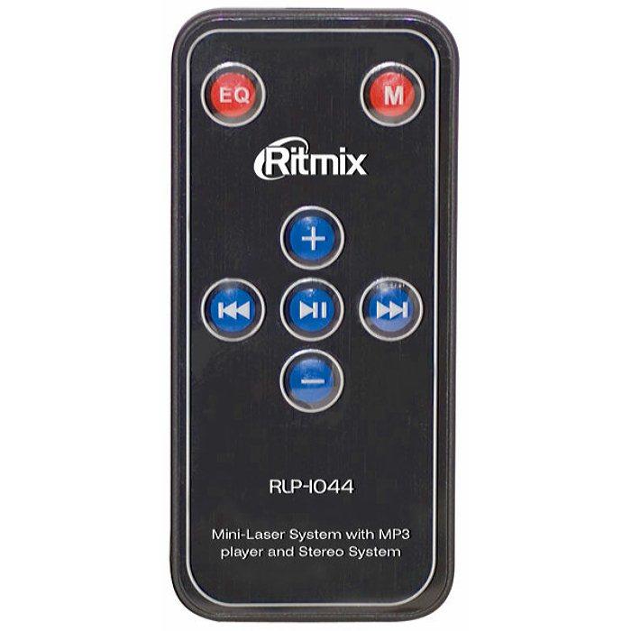 Мини-лазер, стробоскоп Ritmix RLP-1044 встроеный MP3 плеер, для домашних вечеринок