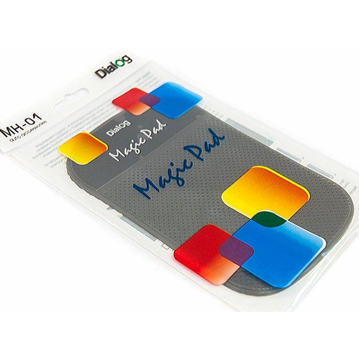 Автомобильнвй держатель коврик для мобильных устройств Dialog MH-01 Magic Pad - тёмно серый