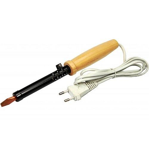 Паяльник электрический 220В 100Вт ПД100 ЭПСН, деревянная ручка