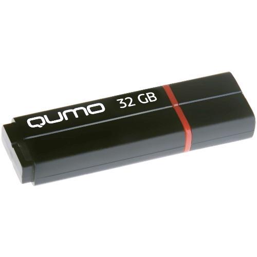Флешка USB 3.0 32Гб - Qumo - Speedster - чёрный