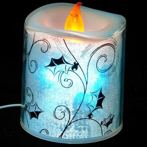 USB свеча Orient NY6004, Лунный Свет, многоцветная подсветка, имитация горения