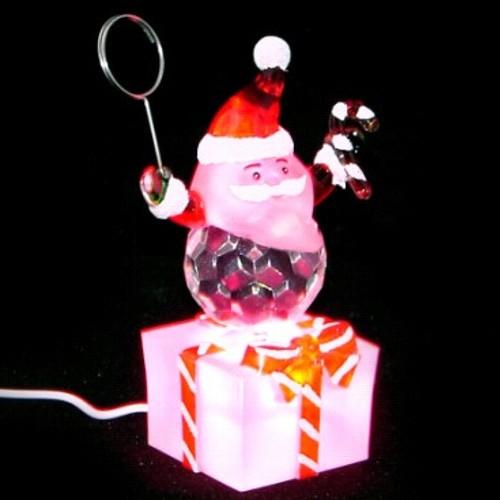 USB Дед Мороз Orient NY6001М,  держатель для фото и визиток, с музыкой, подсветка