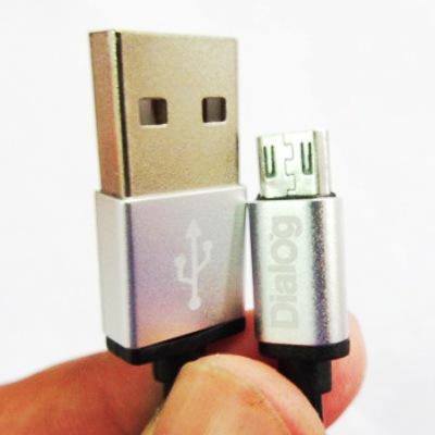Кабель USB*2.0 Am-microB Dialog HC-A5318 - CU-0317S, витой - 1.8 метра