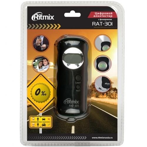 Алкотестер Ritmix RAT-301 полупроводниковый фонарик
