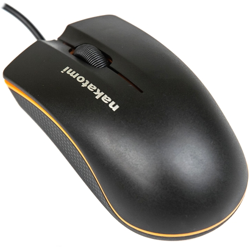 Мышь usb Nakatomi MON-03U чёрная