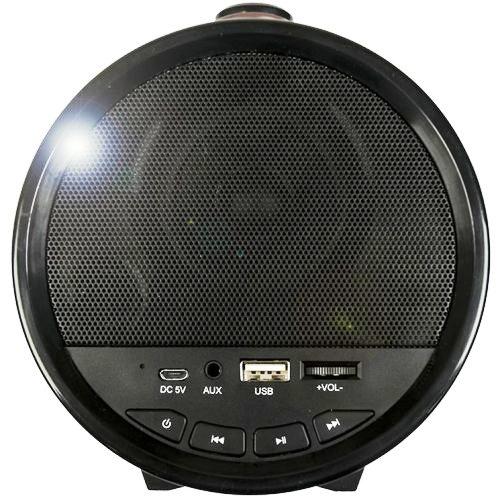Колонка портативная Dialog AP-1000 bluetooth, два динамика 16 Вт, MP3, FM, бочонок с ручкой