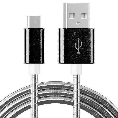 Кабель микро USB*2.0 Am-microB Rexant в металлической оплетке, 1 метр