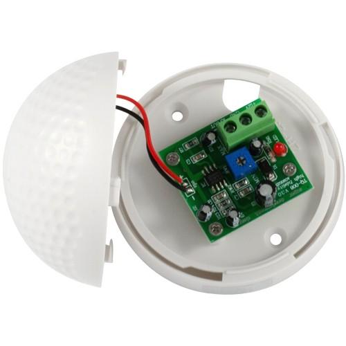 Микрофон для видеонаблюдения Orient VMC-07, активный, АРУ, акустическая площадь до 100 м2, 100-5500 Гц, колодка