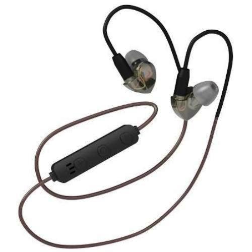 Bluetooth наушники вкладыши с микрофоном Ritmix RH-445CBTH, V4.1, беспроводная мобильная гарнитура, чёрные