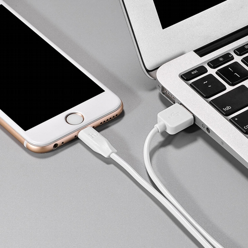 Кабель USB Am - Lightning, Hoco X1 White, белый - 3 метра