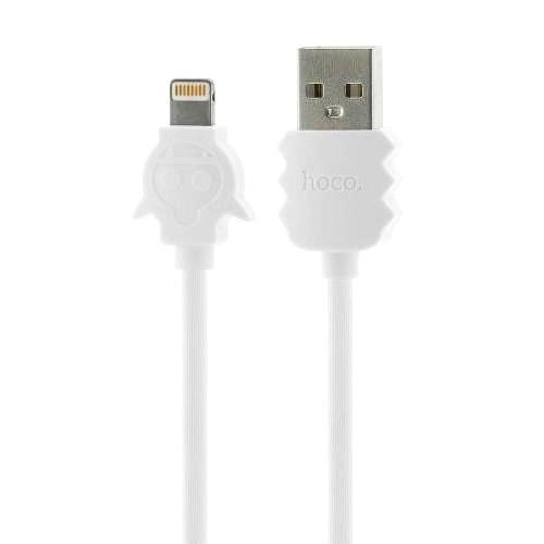 Кабель USB*2.0 Am - Lightning Hoco X16 White, белый - 1.2 метра