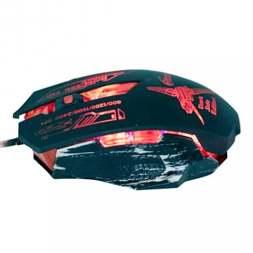 Мышь игровая usb Ritmix ROM-366 MP  плюс  игровой  коврик ( 355*260*3 мм) подсветка  , чёрная