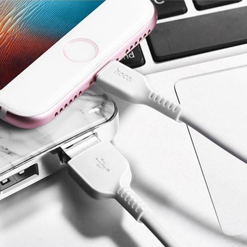 Кабель микро USB*2.0 Am-microB Hoco X20 White, белый - 2 метра
