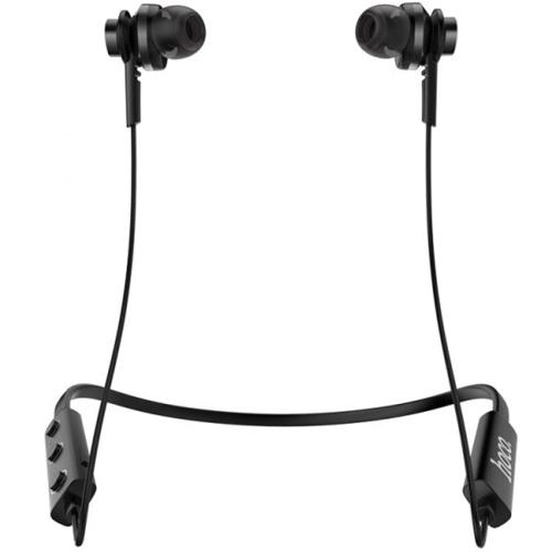 Bluetooth наушники вкладыши с микрофоном Hoco ES18 Faery Sports Black, беспроводная мобильная гарнитура, черные