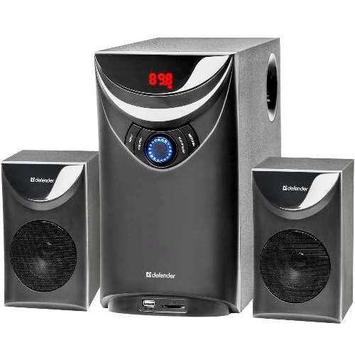 Колонки 2.1 Defender Thunder bluetooth акустическая аудио система 60 Вт, FM, MP3, usb, SD, пульт ДУ