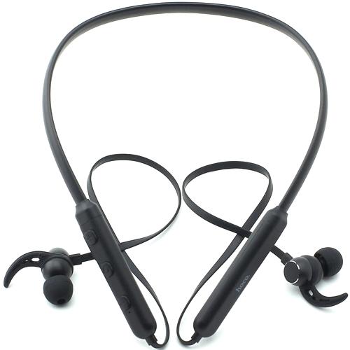 Bluetooth наушники вкладыши с микрофоном Hoco ES11 Maret Grey, беспроводная мобильная гарнитура, темно-серые