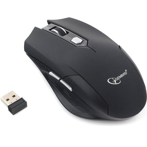 Мышь беспроводная usb Gembird MUSW-240 чёрная