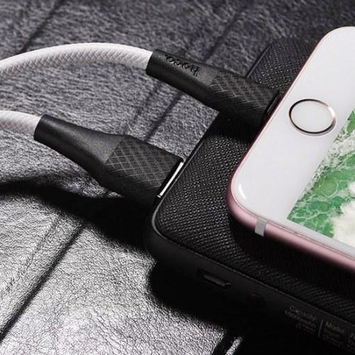 Кабель USB Am - Lightning, Hoco X32 2A White, белый - 1 метр