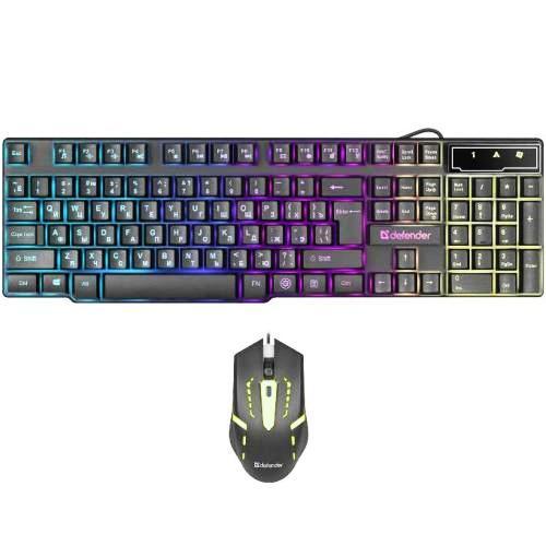 Клавиатура и мышь комплект usb Defender Sydney C-970