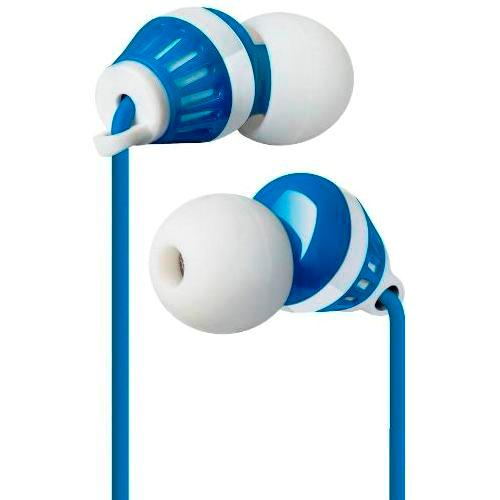 Наушники вкладыши с микрофоном Defender Pulse 460 мобильная гарнитура для смартфонов, бело-синие