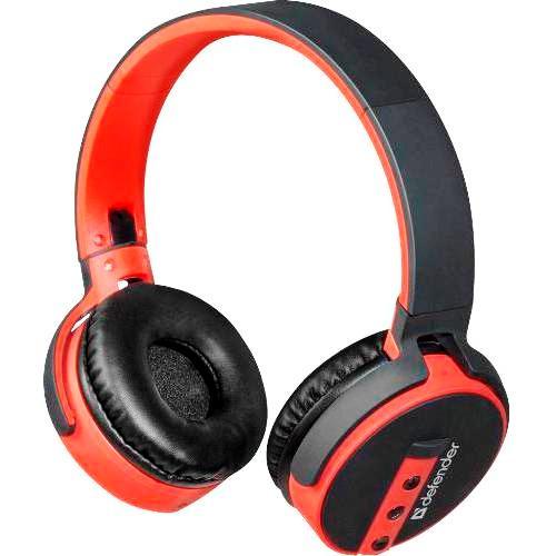Bluetooth наушники с микрофоном Defender B530 FreeMotion с аудиоадаптером беспроводная полноразмерная гарнитура