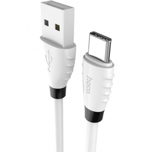 Кабель USB*2.0 Cm-Am Hoco X27 White, белый - 1.2 метра