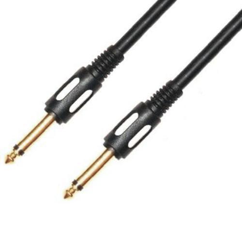 Аудио кабель, гитарный, штекер-штекер 6.3 мм, 5 метров
