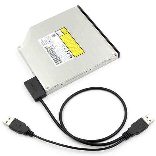 Адаптер USB Am*2 на Slimline SATA для оптических приводов ноутбука Orient UHD-300SL