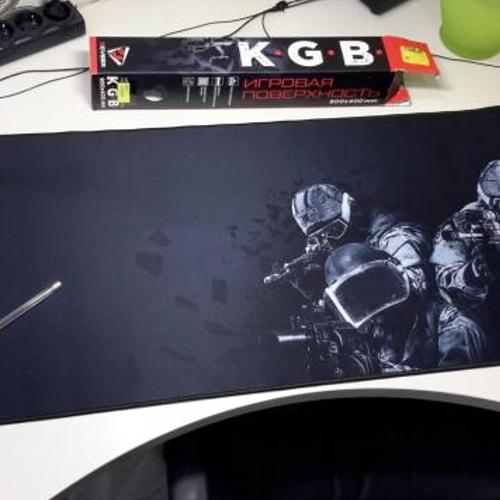 Коврик для мыши, игровой QCyber K.G.B., 900x400мм