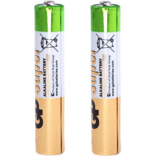 Батарейка AAAA щелочная GP Super Alkaline в блистере 2 шт