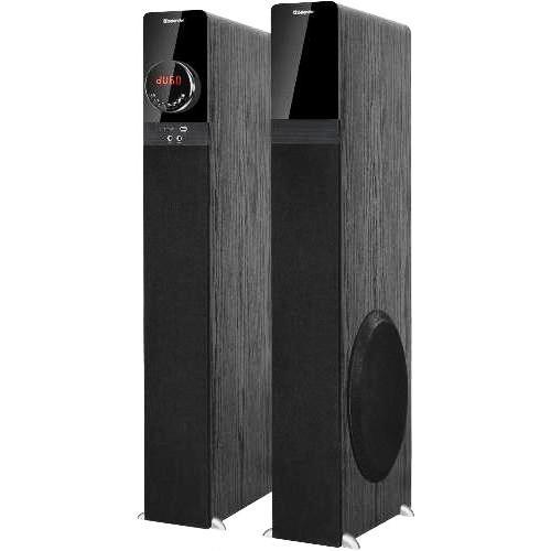 Колонки напольные Defender G80 2.0 bluetooth 4.2 караоке аудио система 140 Вт, MP3-плеер, usb, SD