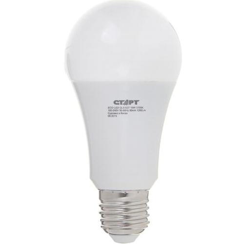 Лампа A60 E27 25Вт, светодиодная LED, тёплый свет Старт ECO