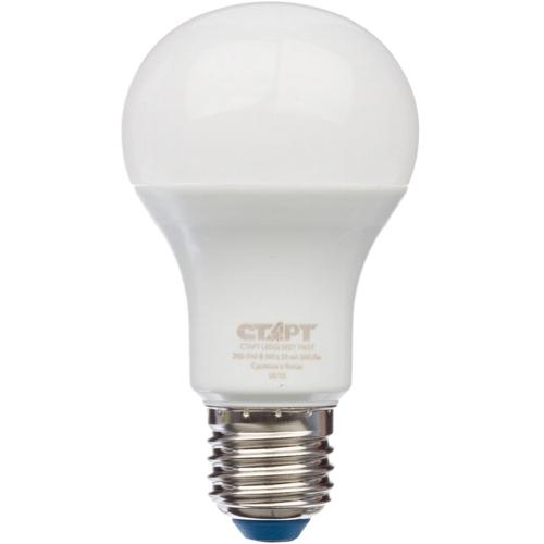 Лампа A60 E27 25Вт, светодиодная LED, холодный свет Старт ECO