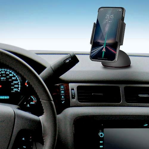 Автомобильный держатель мобильных устройств Defender CH-117 плюс  55-90мм вакуумная присоска на панель