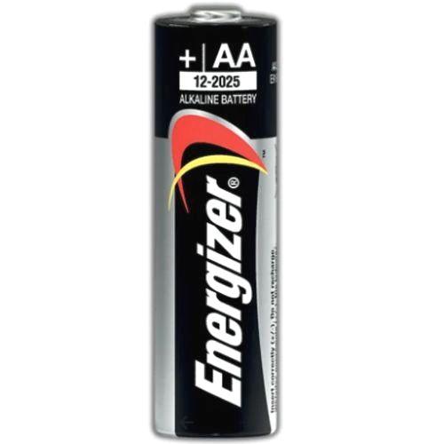 Батарейка AA щелочная Energizer LR06-20BL Alkaline Power в отрывных блистерах 20шт.