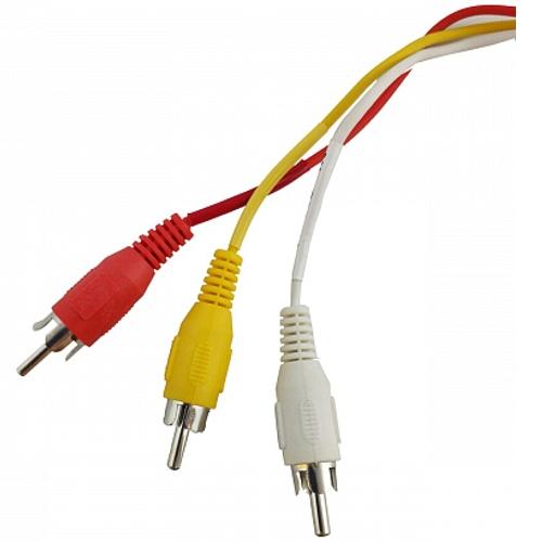 Аудио-видео кабель видеовыход с разъёма SCARTшт. на 3RCAшт. Selenga, с переключателем - 1.5 метра