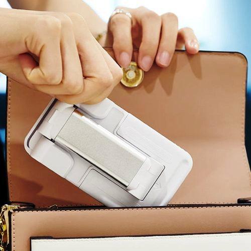 Держатель настольный Hoco PH29 White для телефона и планшета 4.7-13, складной и регулируемый, белый