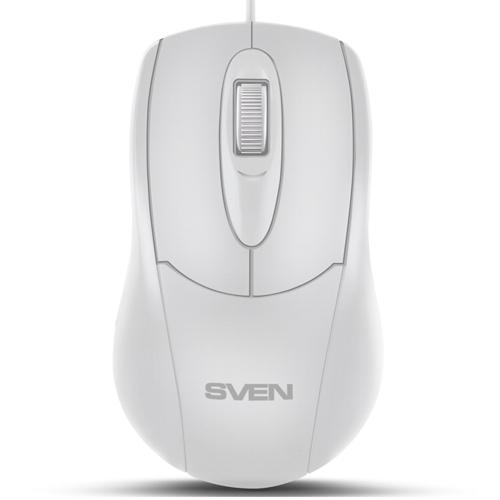 Мышь usb Sven, RX-110 белая