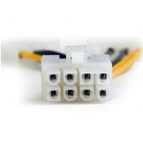 Переходник питания для видеокарт Cablexpert CC-PSU-82 8-контактный на 1 SATA штекер  плюс  1 Molex штекер