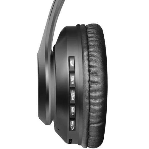 Bluetooth наушники с микрофоном Defender B552 FreeMotion, V5, MP3, FM, беспроводная полноразмерная гарнитура чёрная
