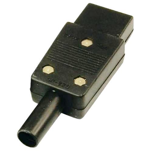 Хвостовик кабельный сетевой Rexant розетка С13 на провод 250В до 10A гнездо 3 контакта с заземлением