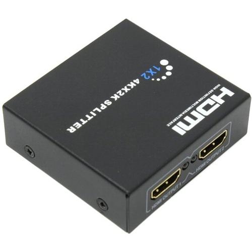 Сплиттер HDMI-4K Orient HSP0102HN разветвитель 1 вход на 2 выхода ULTRA HD4K чёрный