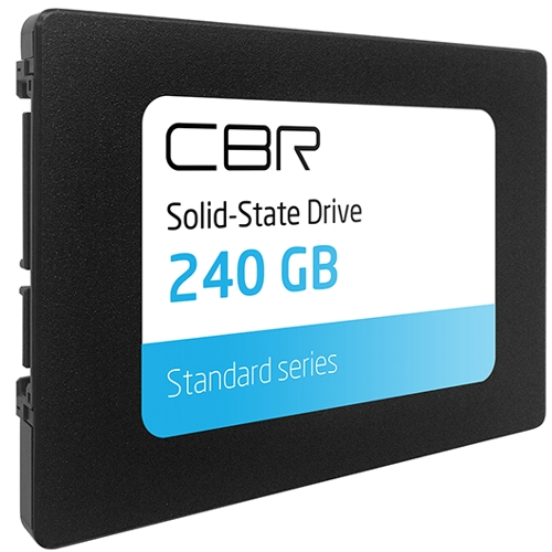 SSD диск 240Гб CBR SSD-240GB-2.5-ST21 SATA III Standard внутренний твердотельный накопитель