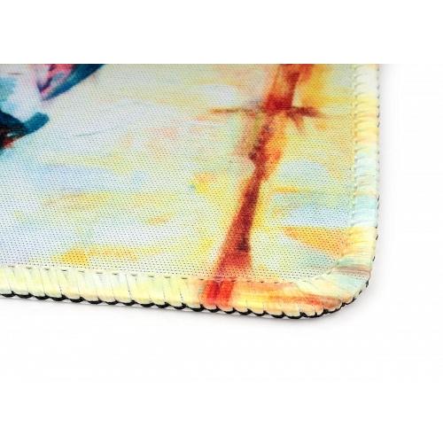 Коврик Gembird MP-ART1 для мыши серия ПИРС 220*180*1мм ткань плюс резина